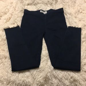 Free People Dark Wash Pull On Jeggings size 26